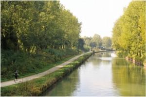 La Seine-et-Marne, Île-de-France, France, environnement-canal