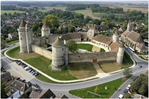 La Seine-et-Marne, Île-de-France, France, chateau de blandy les