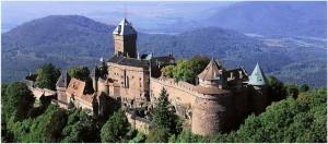 Le Bas-Rhin, Alsace, France, chateau