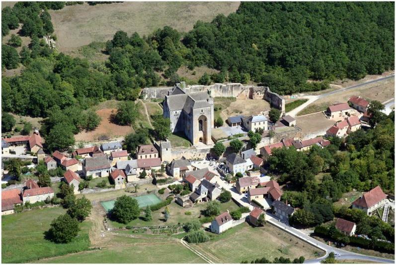 Saint-Amand-de-Coly, la Dordogne, France