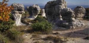 Forcalquier,Alpes-de-Haute-Provence, PACA, France, les mourres