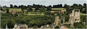 l'Allier, Auvergne-Rhone-Alpes, France, chateau herisson