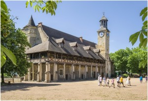 Montluçon,Allier, Auvergne-Rhone-Alpes, France, chateau des d