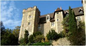 Montluçon,Allier, Auvergne-Rhone-Alpes, France, le chateau