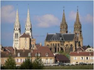 Moulins, Allier, Auvergne-Rhone-Alpes, France, patrimoine