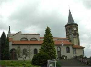 Orcines,Puy-de-Dome, Auvergne-Rhone-Alpes, France, eglise
