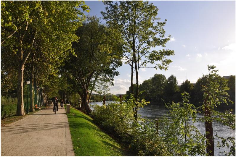 Rueil-Malmaison France  city photo : Rueil Malmaison, Hauts de Seine, Île de France, France, berge