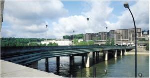 Saint-Cloud, Hauts-de-Seine, Île-de-France, France, le pont