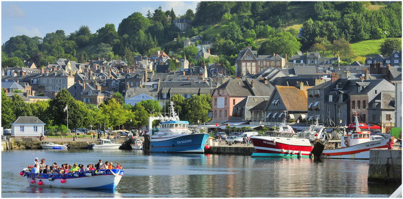 Honfleur calvados normandie france cap voyage - Le bistrot du port honfleur ...