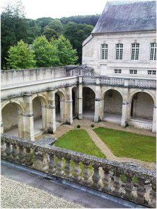 L'abbaye Notre-Dame du Bec, l'Eure, Normandie, France, le cl