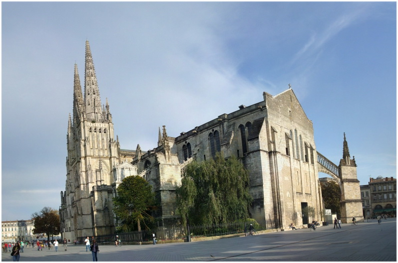 La cathédrale Saint-André de Bordeaux, France