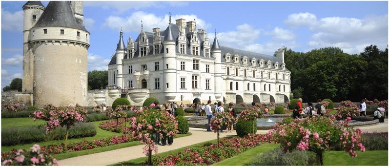 Chateau de Chenonceau, Chenonceaux, Indre-et-Loire, Centre-Val d