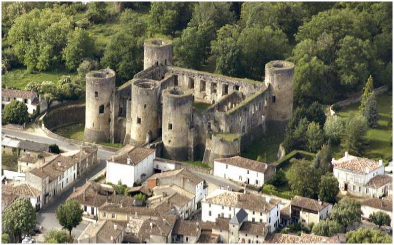 Villandraut, laGironde,France