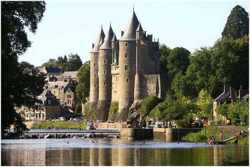 lechâteau de Josselin, Josselin, Morbihan, Bretagne, France