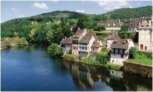 Argentat,la Correze, Aquitaine-Limousin-Poitou-Charentes, Fran
