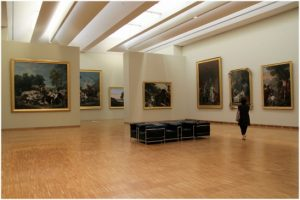 Le musee de Grenoble, Grenoble, Isere, France, interieur