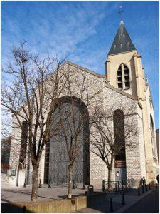 La cathédrale Sainte-Geneviève-Saint-Maurice de Nanterre, anci