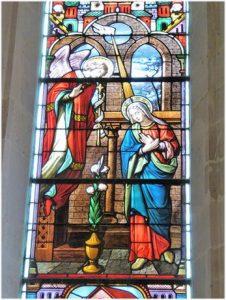 La cathédrale Sainte-Geneviève-Saint-Maurice de Nanterre, fres