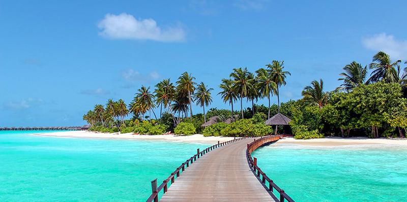 plage paradisiaque maldives