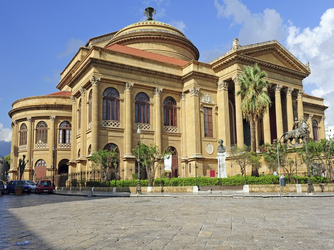 Teatro Massimo en Sicile 2