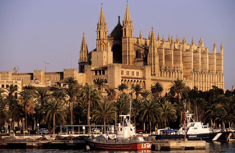 La cathédrale de Palme de Majorque