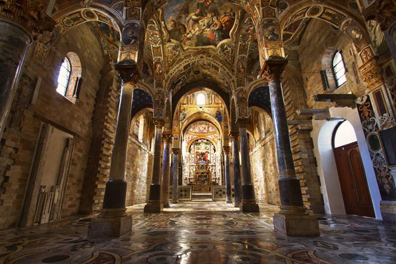Santa Maria dell'Ammiraglio (La Martorana) en Sicile