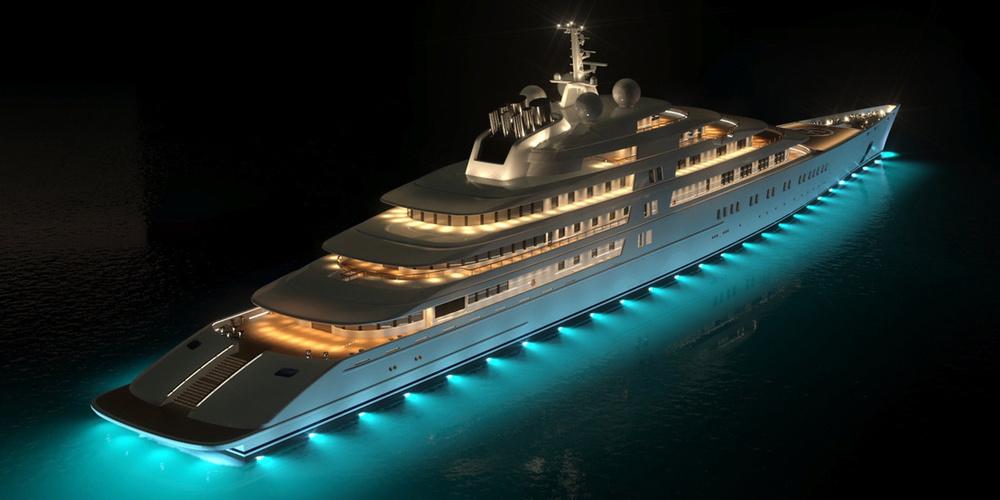 Bateau de Luxe Azzam Yacht