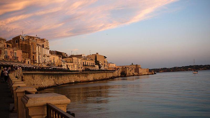 l'île d'Ortigia en Sicile