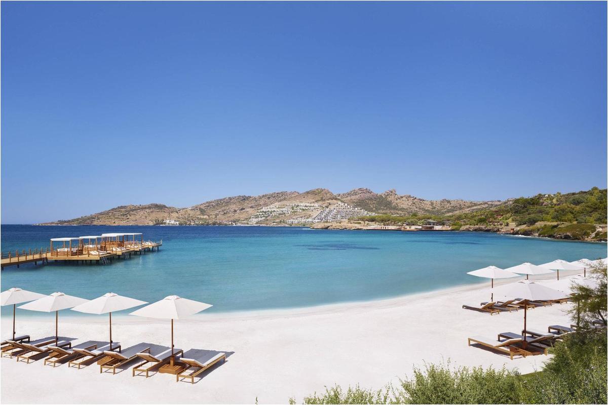 La plage de Bodrum, Voyage en Turquie