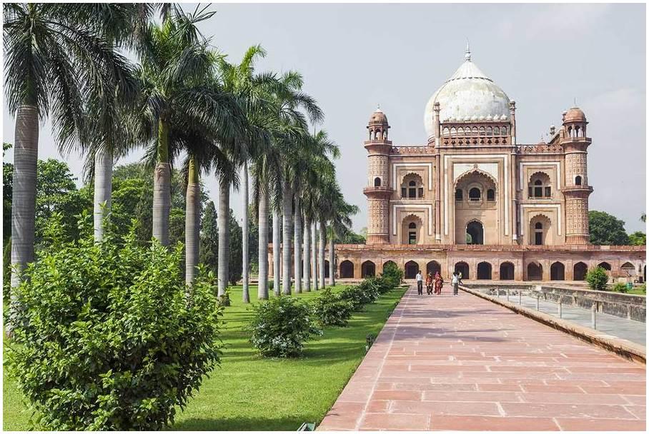 l'Inde Tombe de Humayun, Delhi