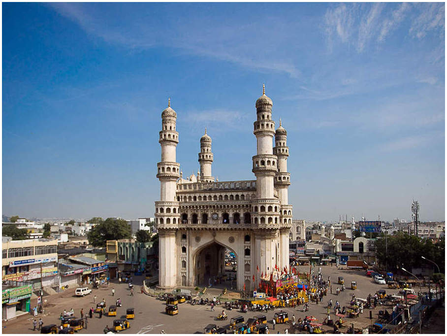 Charminar l'Inde