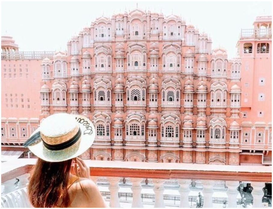 l'Inde Hawa Mahal