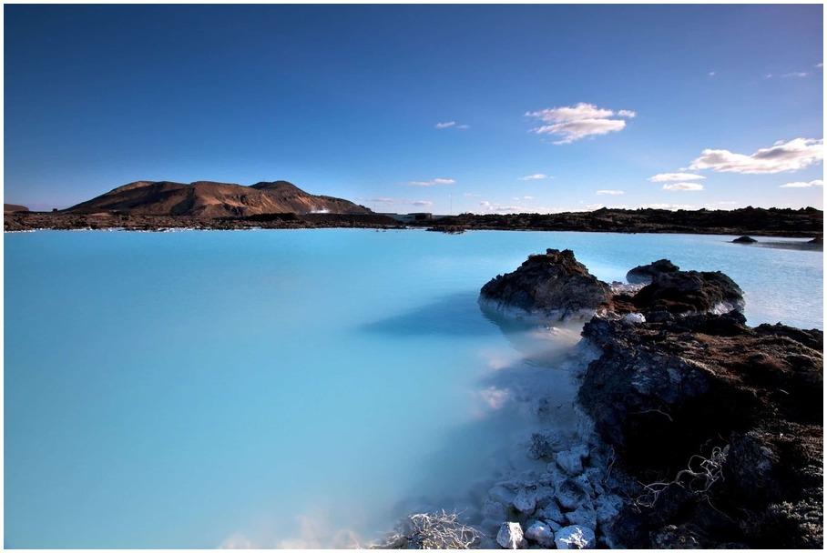 Islande lagon bleu