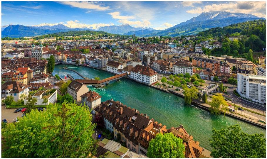 Lucerne itinéraires