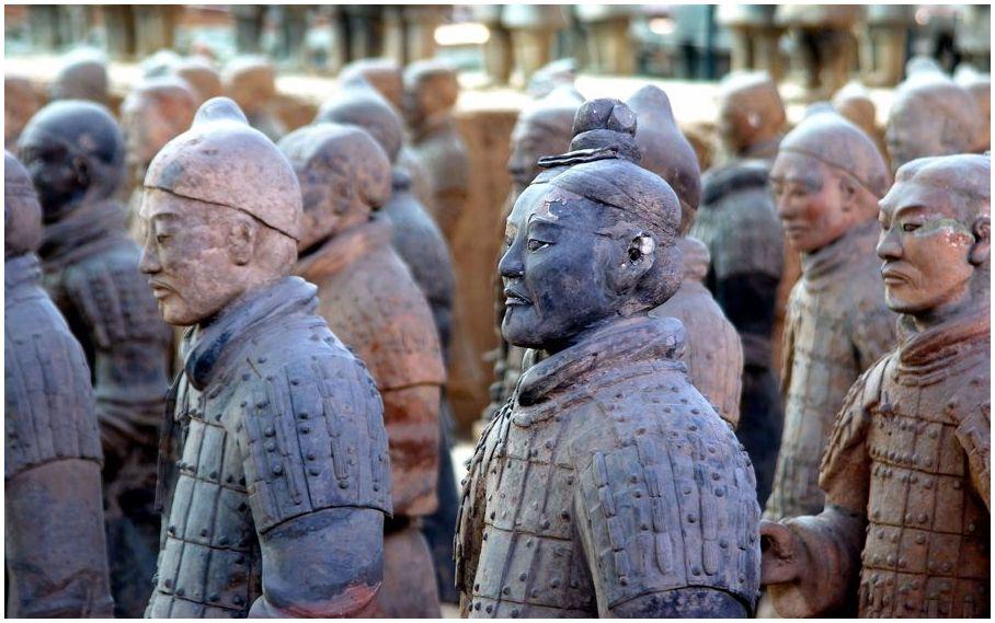 L'armée de terre cuite à Xi'an - Une armée souterraine vieille de 2 000 ans !