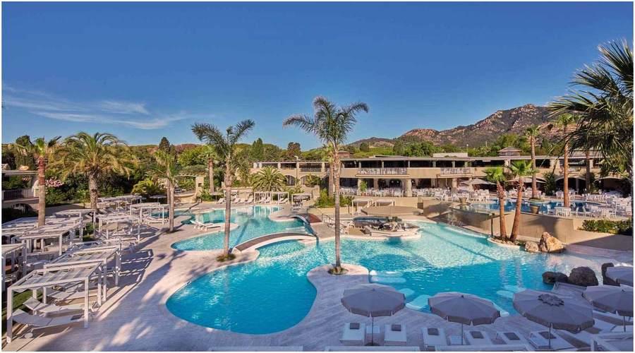 Hotel Forte Village Resort, voyage en sardaigne