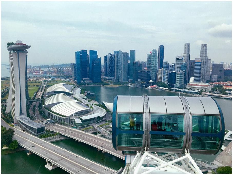 lune-de-miel-Singapour-Flyer-Singapour