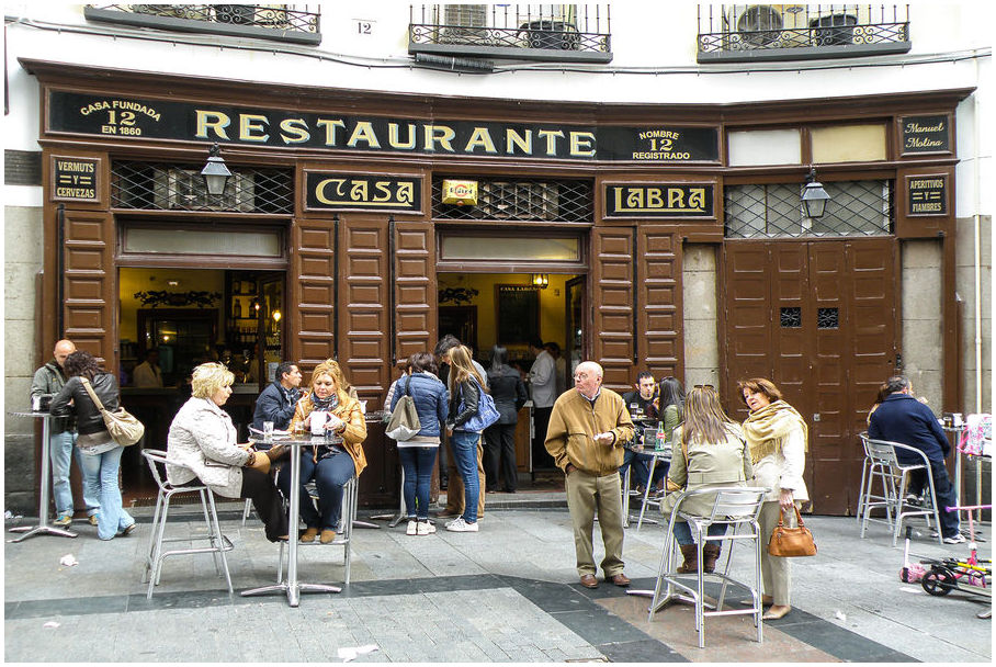 Casa Labra restaurants madrid