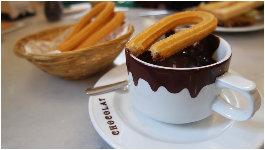 chocolat Top 15 des restaurants à Madrid