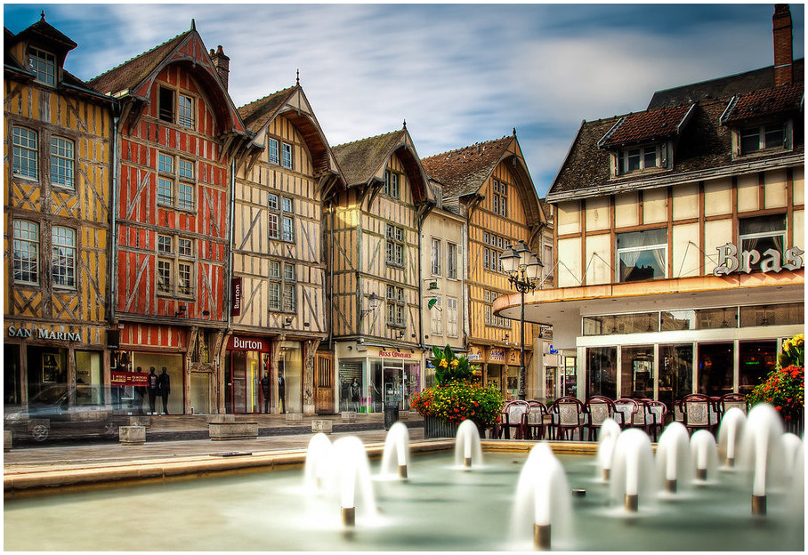 Troyes-villes françaises
