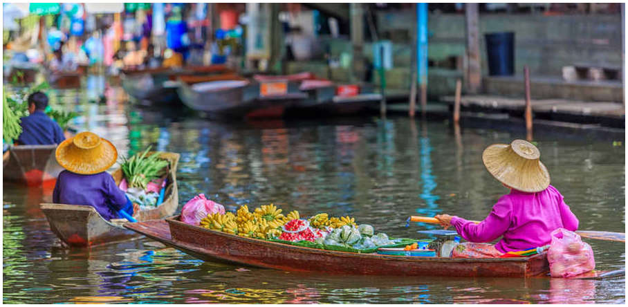 marches-flottants-bangkok