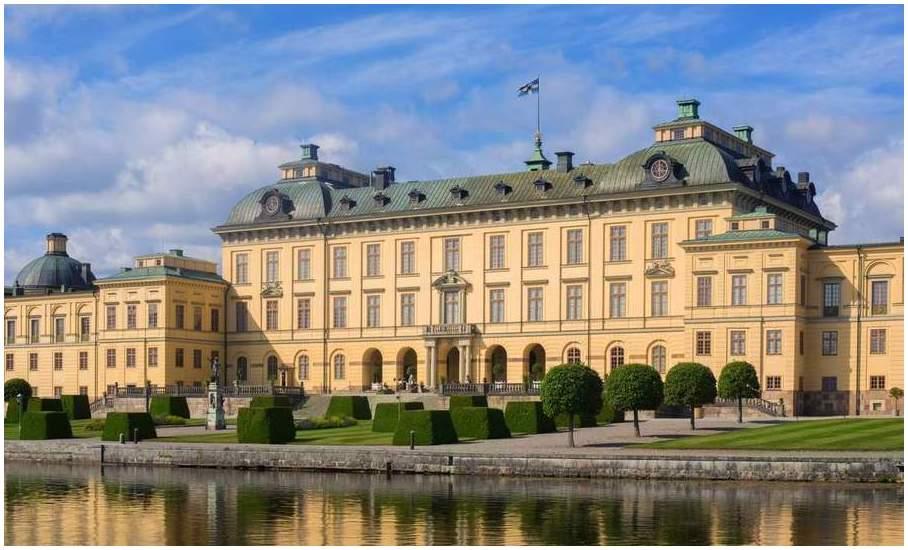 Suede-Palais-de-Drottningholm