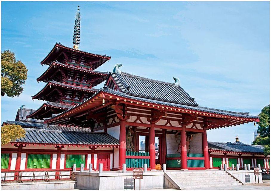 Temple Shitennoji osaka