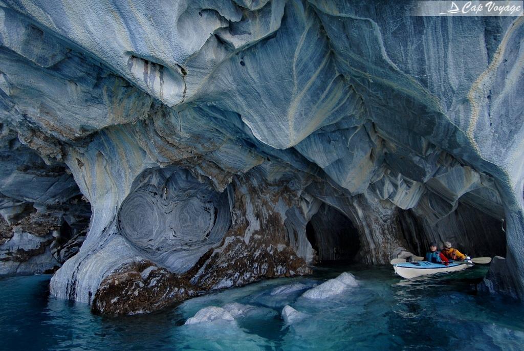 Patagonia South America >> La Cathédrale de Marbre au Chili   Cap Voyage